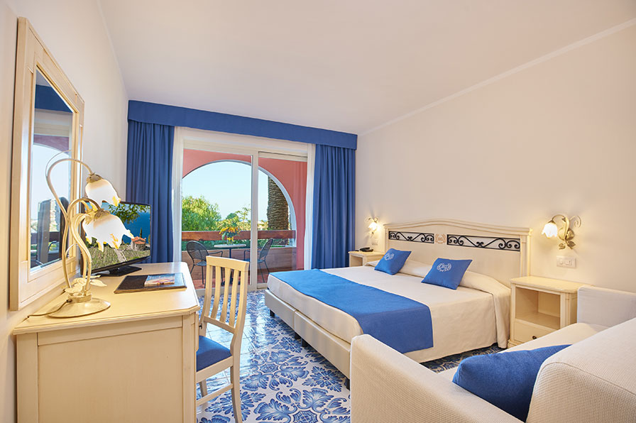 Hotel del Golfo 4 stars rooms and suites, in Elba Island